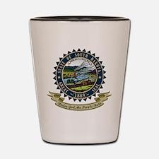 South Dakota Seal Shot Glass