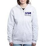 White Lake ON Women's Zip Hoodie