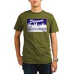White Lake ON Organic Men's T-Shirt (dark)