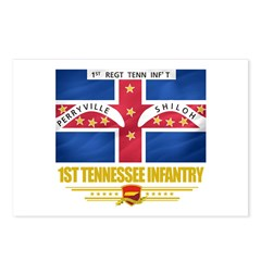 1st Tennessee Infantry Postcards (Package of 8)