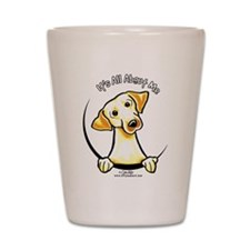 Yellow Lab IAAM Shot Glass