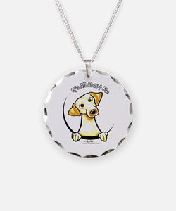 Yellow Lab IAAM Necklace