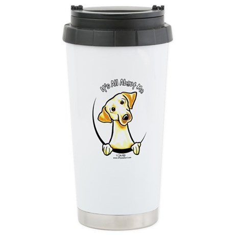 Yellow Lab IAAM Stainless Steel Travel Mug