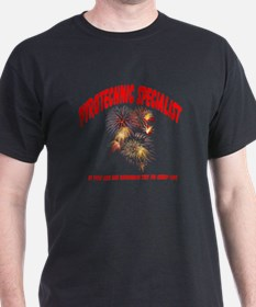 Pyrotechnic Specialist T-Shirt