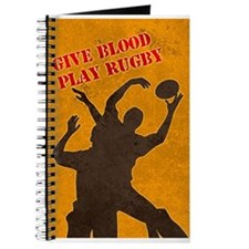 rugby lineout catch Journal