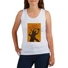 rugby lineout catch Women's Tank Top