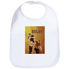 rugby player line out Bib