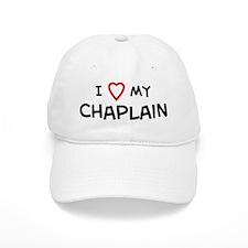 I Love Chaplain Baseball Cap