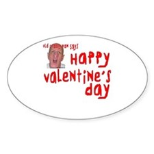 Crabby Valentine Decal