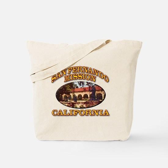 San Fernando Mission Tote Bag