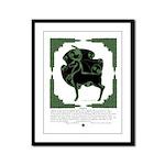 Herne Framed Panel Print