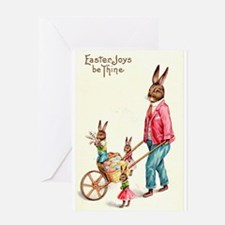 Vintage Easter Card Greeting Card