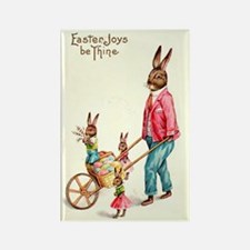 Vintage Easter Card Rectangle Magnet (100 pack)