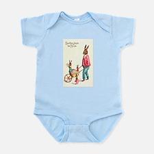 Vintage Easter Card Infant Bodysuit