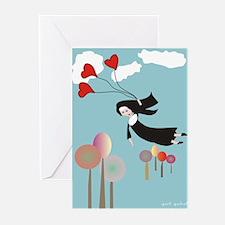 "Catholic Nuns Art Card ""Soaring"""