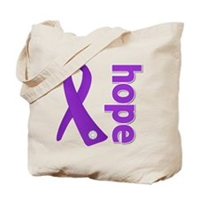 Hope Lupus Ribbon Tote Bag