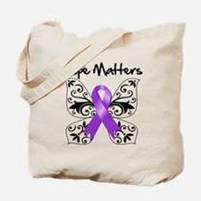 Lupus Butterfly Hope Matters Tote Bag