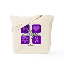 Inspirational Hope Lupus Tote Bag