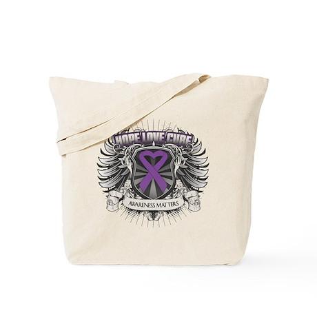 Hope Love Cure Lupus Tote Bag