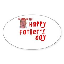 Crabby Father's Day Decal