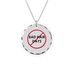 No Bad Hair Days Necklace