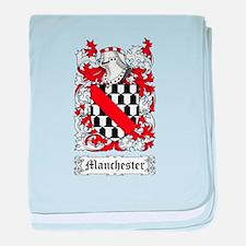 Manchester baby blanket