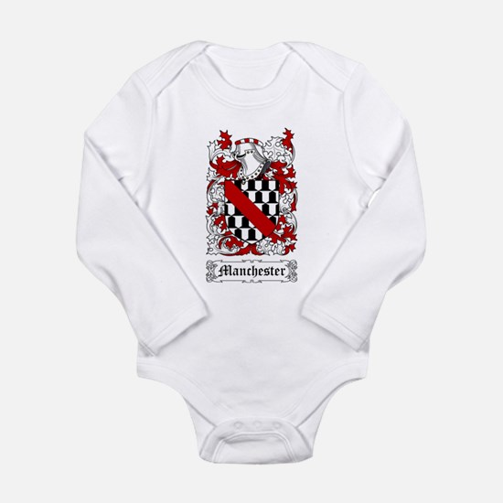 Manchester Long Sleeve Infant Bodysuit