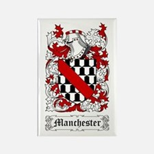 Manchester Rectangle Magnet