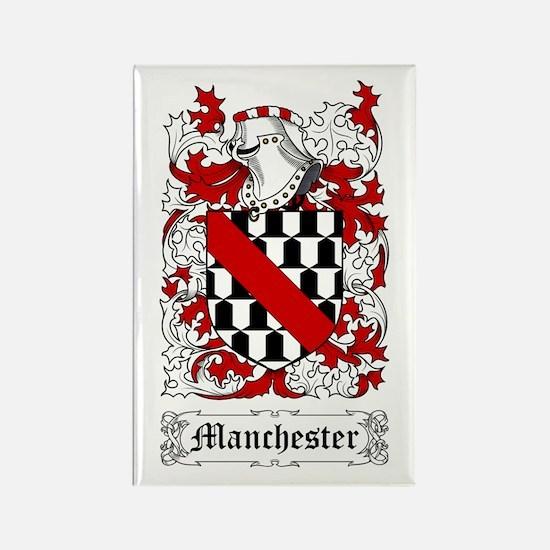 Manchester Rectangle Magnet