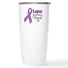Lupus Awareness Month Stainless Steel Travel Mug