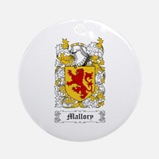 Mallory Ornament (Round)