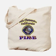 San Clemente Fire Tote Bag