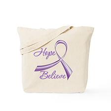 Hope Believe Lupus Tote Bag