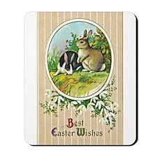 Vintage Easter Card Mousepad