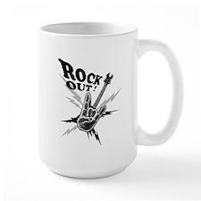 Rockout Guitar Mug