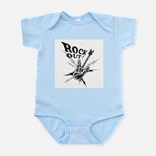 Rockout Guitar Infant Bodysuit