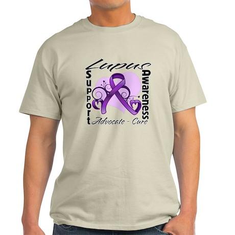 Lupus Awareness Ribbon Light T-Shirt