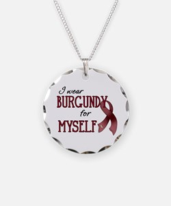 Wear Burgundy - Myself Necklace