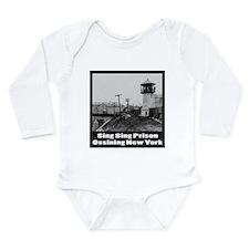 Sing Sing Prison Long Sleeve Infant Bodysuit