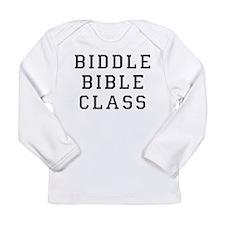 Biddle Bible Class Long Sleeve Infant T-Shirt