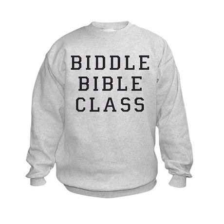 Biddle Bible Class Kids Sweatshirt