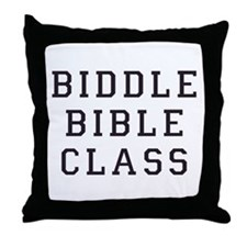 Biddle Bible Class Throw Pillow