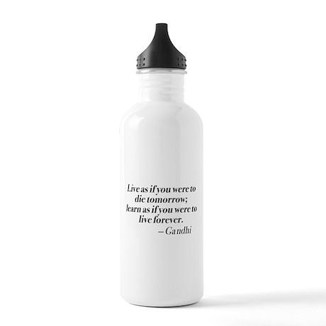 Gandhi Stainless Water Bottle 1.0L