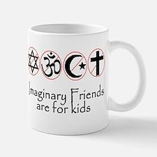 imaginary friends atheist sec Mug