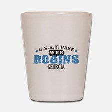Robins Air Force Base Shot Glass
