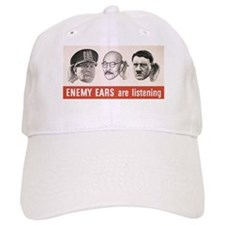 Enemy Ears are Listening Baseball Cap