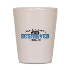 Schriever Air Force Base Shot Glass