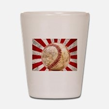 BASEBALL FOR JAPAN Shot Glass