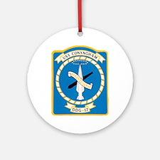 USS CONYNGHAM Ornament (Round)