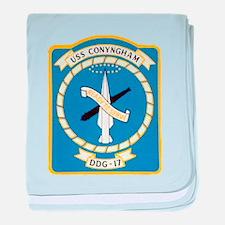USS CONYNGHAM baby blanket